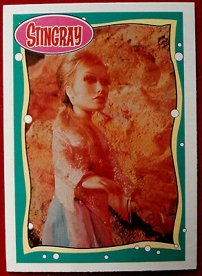 STINGRAY - Card #08 - Marina - issued by Topps, 1993