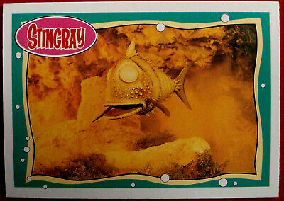 STINGRAY - Card #10 - Terror Fish - issued by Topps, 1993