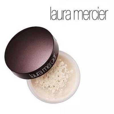 laura mercier translucent loose setting powder travel size 3,5ml made in USA ori