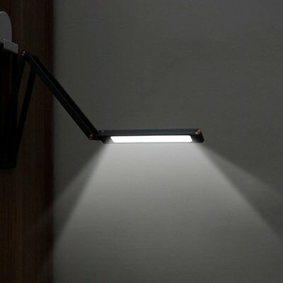 4 Folds Arm Dimmable Table Lamp Adjustable USB Rechargeable Portable LED Light&#