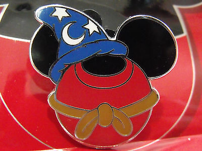 2012 Disney Sorcerer Hat Mickey Mouse Icon Ears Mystery Trading Pin