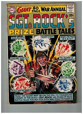 Sgt. Rock's Prize Battle Tales 1964 80 Page Giant #7
