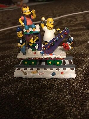 "THE SIMPSONS Christmas Express Collection - ""THE BULLY EXPRESS"" Train"