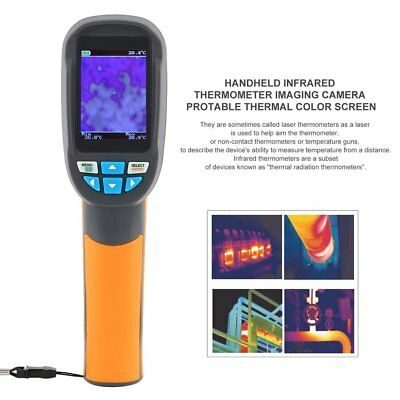 HT-02D Handheld Thermal Imaging Camera Infrared Thermometer Imager Gun -20 GBFK