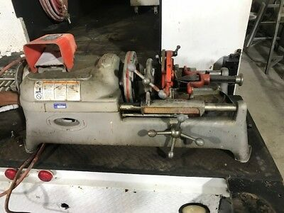 Pipe Treading Machine Ridgid 535