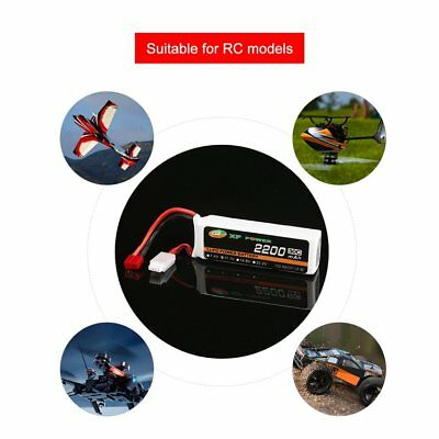 XF POWER 11.1V 2200mAh 30C 3S Lipo Battery T Plug For RC Drone Helicopter Car BF