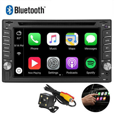 "6.2""Car Stereo CarPlay Autoradio DVD Player Radio Touch Screen For IOS Apple NU"