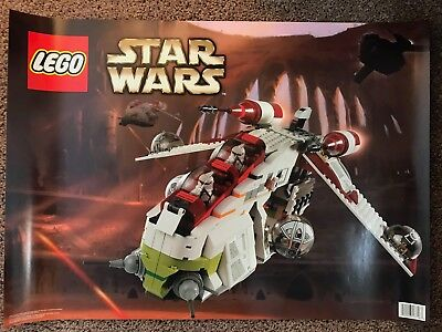 Star Wars Lego Attack Of The Clones Promo Poster ATOC 2002 (1 of 4)