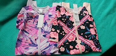 Bonds Wondersuit size 1 pack Pink Tapestry Pink Canopy NWT lot girls