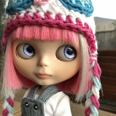 "Custom Blythe, OOAK, original ""Simply Guava"" base doll"