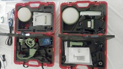 Leica ATX1230 GG / GX1230 GG base & rover RTK GNSS kit w/ RX1250X + ADL in cases