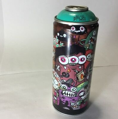 MTN Limited Edition ASTRO Collector's Tribute Spraypaint Can (2013) UFO Green