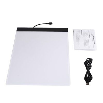 K02 A4 Paper Size Copying Board Ultra Thin LED Luminous Portable Painting Pad KE