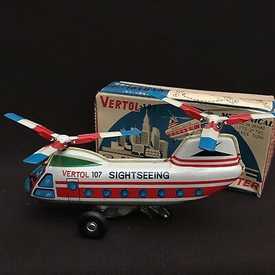 Helicopter Blech in OVP, Made in Japan NOMURA TOYS ?
