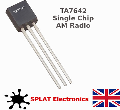 TA7642 AM Radio Chip (ZN414, MK484 Equivalent) Fast Delivery - UK Seller