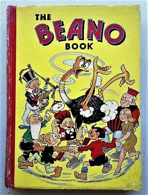 THE BEANO ANNUAL 1942 Comic book(published 1941)Third in series War time Rare #3