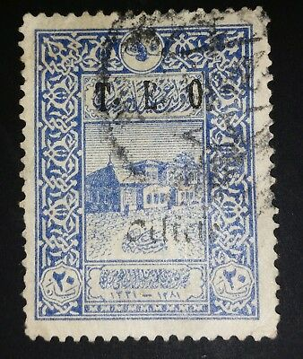 "CILICIA - USED - 1919  - ""T.E.O. Cilicie"" OVERPRINTED ON 1916 TURKISH STAMPS."