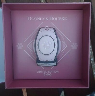 Disney Dooney And Bourke Pink Disney Dogs Magicband Magic Band Dooney New Disney