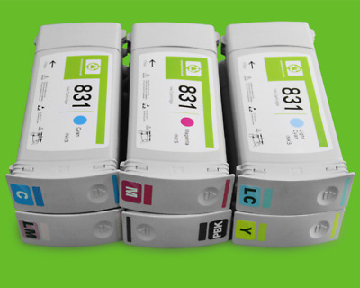 any 3 compatible HP latex INK 831A cartridge 300 310 330 360 370 inkjet hh