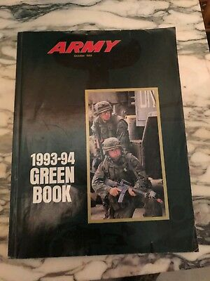 The Army Green Book 1993-1994 U.S. Army