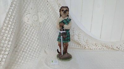 Country Artists Magnificent Meerkats William Figurine Boxed Ca04498