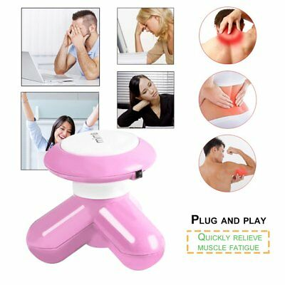 Mini Electric Hand held USB Massager Full Body Muscle Back Pain Relief Relax HZ