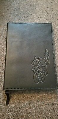 Disney Mickey Mouse Leather Journal NEW