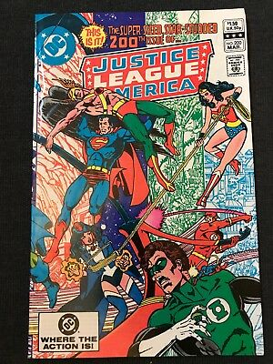 Justice League of America #200 (Mar 1982, DC) George Perez FN/VF