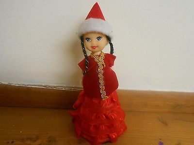 Gorgeous Kazakh Doll. Traditional Ethnic Outfit. Made in Kazakhstan
