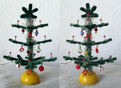 Alter Christbaum - Weihnachtsbaum - Tinsel - Gablonzer - Puppenstube -Doll House