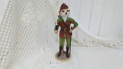 Country Artists Magnificent Meerkats Robin Figurine Boxed Ca04483