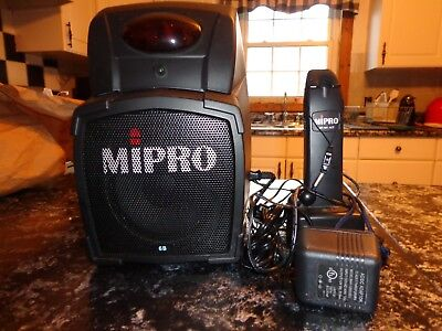 Mipro MA-101 ACT REMOTE-CONTROLLED PA AMPLIFIER , USED EXCELLENT CONDITION