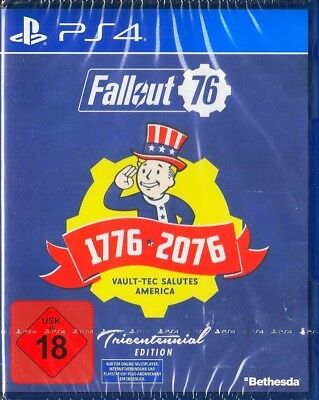 Fallout 76 Tricentennial Edition - PS4 PlayStation 4 Deutsche Version Neu & OVP