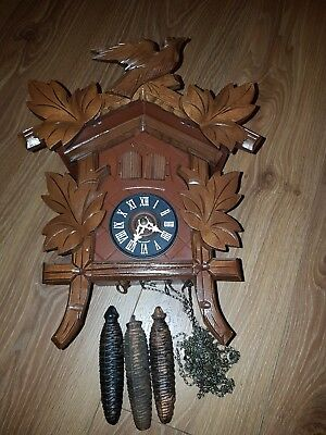 MUSICAL   CUCKOO CLOCK  spares or repair