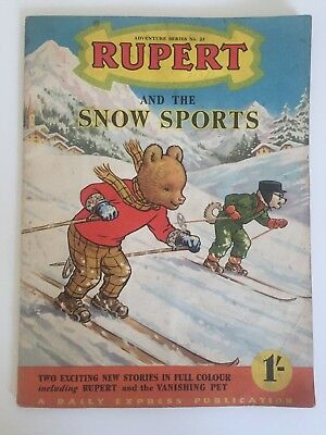RUPERT THE BEAR ADVENTURE SERIES 23 _ Rupert and the Snow Sports
