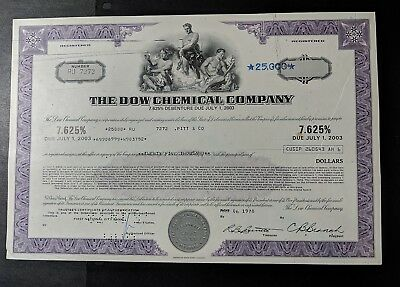 1978 The Dow Chemical Company Bond