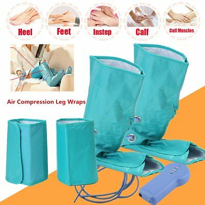 Healthcare Air Compression Leg Wrap Calf Ankle Circulation Therapy Massager FD