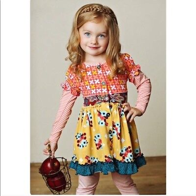 BRAND NEW  Girls toddlers Matilda Jane Friends Forever Annika dress size 2