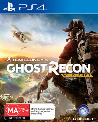Tom Clancys Ghost Recon Wildlands PS4 Game USED