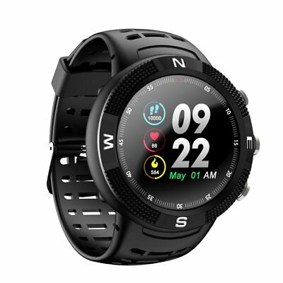 F18 Smart Watch Waterproof Display Smartwatch Wrist Fitness Tracker Wat NQ