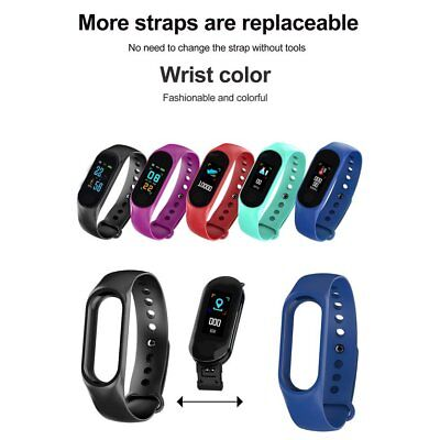 M3 color screen M3Plus blood pressure detection heart rate test Bluetoo NQ