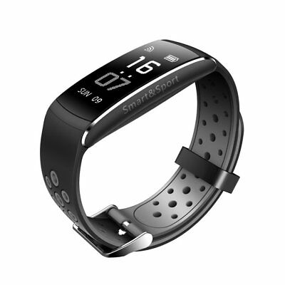 Q8 Smart Watch Real-time Heart Rate Monitor Pedometer Sports Bracl NQ