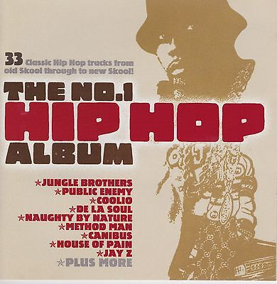 The No 1 Hip Hop Album  2CD -FEAT.JUNGLE BROTHERS,PUBLIC ENEMY,COOLIO-NEW SEALED