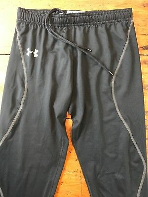 NWOT Under Armour Cold Gear EVO Mens Black Running Tights, MED