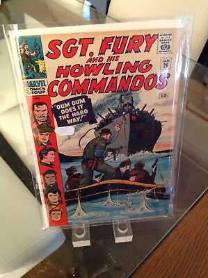 """Sgt Fury And His Howling Commandos 26 Vol 1 """"Dum Dum Does It The Hard Way"""""""