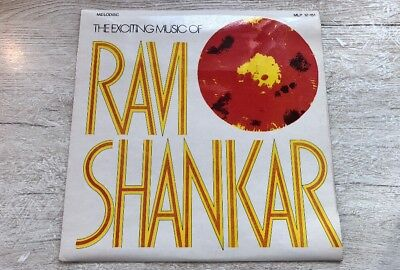 Ravi Shankar ‎The exciting music of Ravi Shankar UK Vinyl LP Melodisc 1963