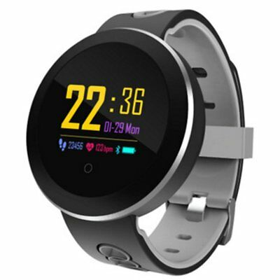 Q8pro Color Screen Smart Bracelet Sports Step Ip68 Waterproof Heart Ra NQ