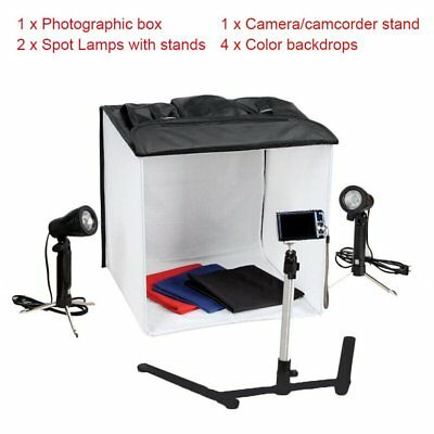 40cm Foldable Camera Photo Studio Box Light Tent Box Set for DSLR Camera HJDR