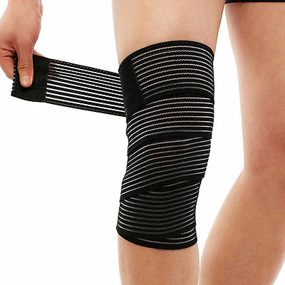 Adjustable Man Woman Elastic Fitness Cotton Strength Bandage Hand Wrist Strap EG