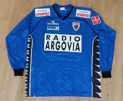 Aarau Switzerland 2000 - 2001 #21 rare vintage match worn away shirt size XL